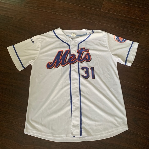 half off 03e24 59819 Vintage Mike Piazza New York Mets Jersey
